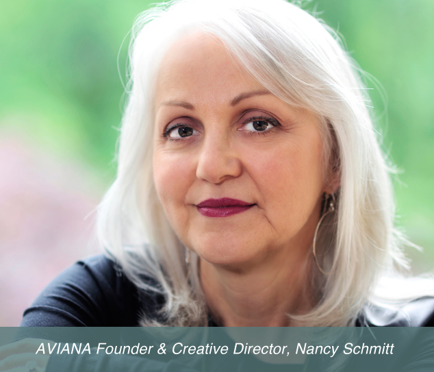 aviana founder & creative director nancy schmitt